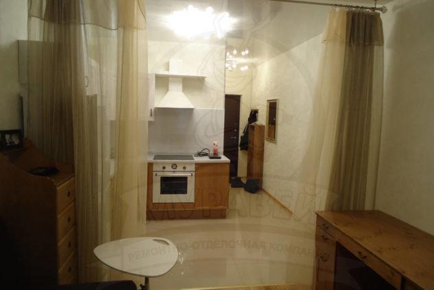 Квартира-студия ул. Пулковская 8